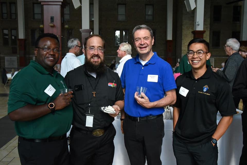 Serra Club of Columbus sponsored Priest Appreciation Banquet