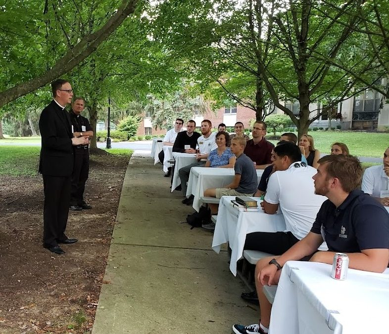 Welcome our new seminarians to the The Pontifical College Josephinum